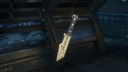 Combat Knife Gunsmith Model Diamond Camouflage BO3