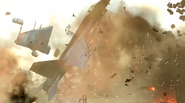 FA-18E Super Hornet blowing up CoDG