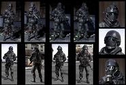 Russians Commandos MW3