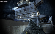 Safe spot from enemy fire Crew Expendable CoD4