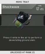 Shockwave Unlock Card IW
