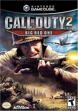 Call of Duty 2: Big Red One Gamecube kansi.