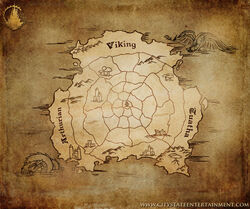 The Old World Map
