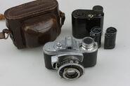 Photavit II Meyer Primotar f2,8-42,5mm Compur 1