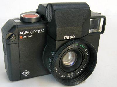 Agfa Optima Flash Electronic Sensor