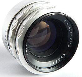 Lens-Biotar-2-58