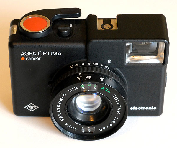 Agfa Optima Electronic Sensor
