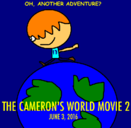 The Cameron's World Movie 2 poster