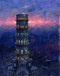 The Sinspire © Les Edwards 2007, All Rights Reserved