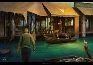 Floating market by lilia anisimova