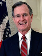 """George """"The Real One"""" Bush"""