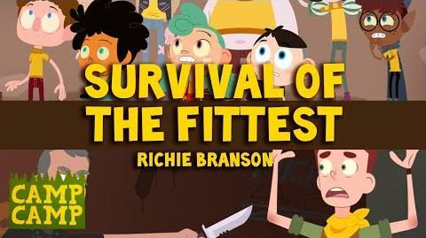 Camp Camp Soundtrack Survival Of The Fittest - Richie Branson Rooster Teeth