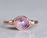 Lavender's ring from