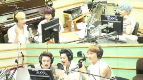 Happy Birthday Song EXO Baekhyun DO Chen Lay Chanyeol Super Junior Ryeowook KTR000419
