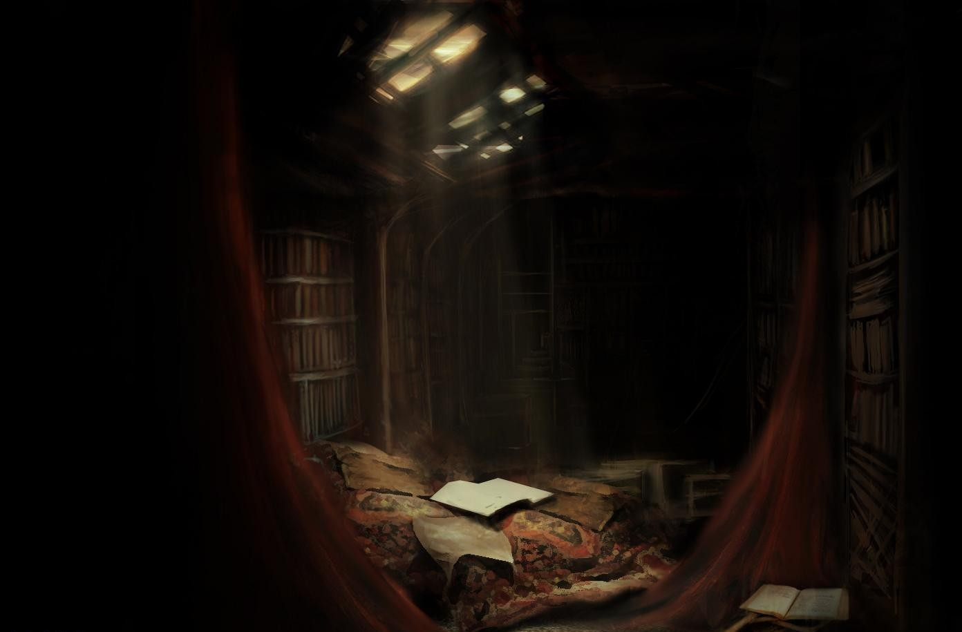 The Sanctuary/Veritum Unitum HQ/Library