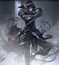 Xurxo in his armor
