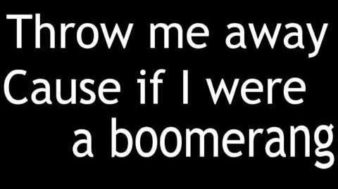 "The Summer Set ""Boomerang"" with Lyrics on Screen"