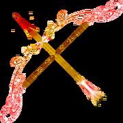 Ruby bow fire opal arrow by sunrise oasis.png