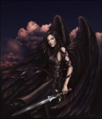 Dark Angel Girl by housexy.jpg
