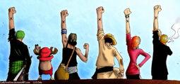 One Piece One Friendship by LadySwallow.jpg