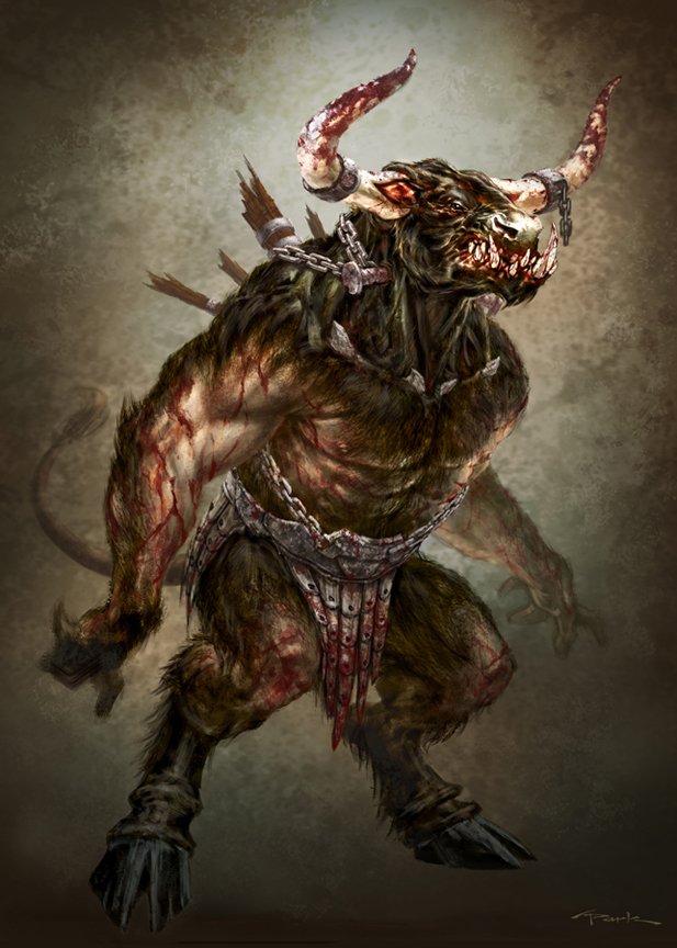 God of War III Minotaur by andyparkart.jpg