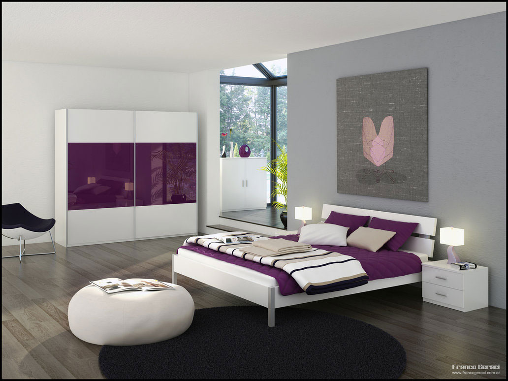Cheryl Anders/Bedroom