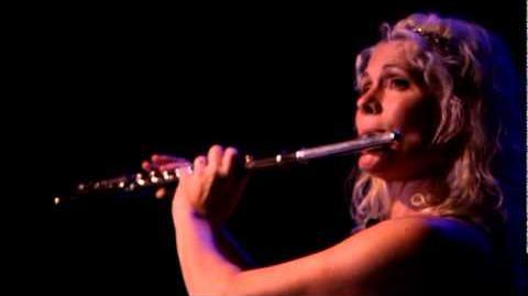 "Rhonda Larson performs her flute solo, ""Be Still My Soul"""