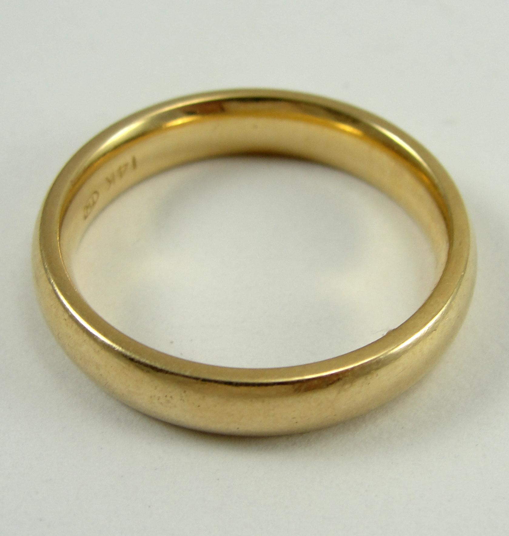 1315588494 14K-Yellow-Gold-Ring-Band-Wedding-4.15mm-Width-Sz-7.75 2.jpg