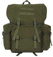 Camo-rucksack