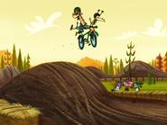 Nina and Clam bike ride