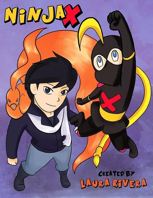 Ninja X Chapter 1 Cover.jpg