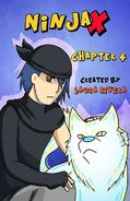 Ninja X Chapter 4 Cover