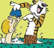 Calvin&HobbesTubPlay