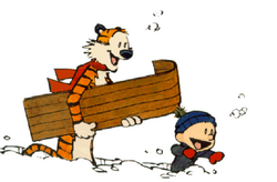 Calvin And Hobbes-Snow Day.png