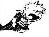 Calvin in Superhero Form