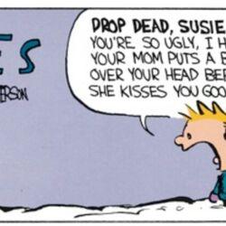 Calvin-Susie Derkins relationship