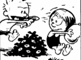 Calvin's water gun