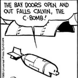 Calvin the C-Bomb