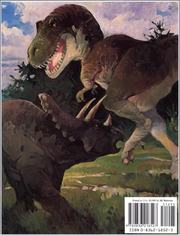 Tyrannosaurus on The Calvin and Hobbes Lazy Sunday Book- Back.png