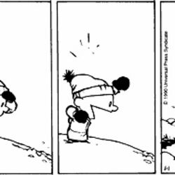 Calvin's snowballs