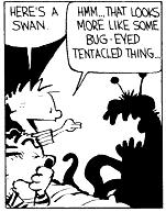 Assorted monsters in Calvin's room