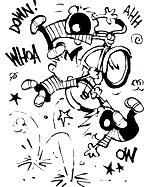 Calvin's Killer Bicycle