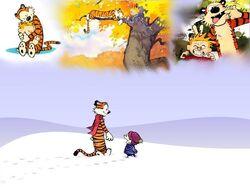Calvin and Hobbes by ashantiwolfrider.jpg