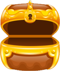 Treasure chest brown opened.png