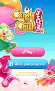 Candy Crush Jelly Saga Facebook connect button new2