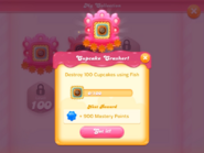 My Collection Cupcake Crasher badge 2 expedition 1
