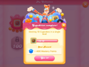 My Collection Cupcake Crasher badge 1 expedition 1 complete