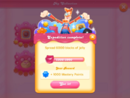 My Collection Jelly Juggler badge 1 expedition 5 complete