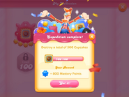 My Collection Cupcake Crasher badge 1 expedition 5 complete