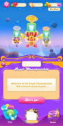 Royal Championship welcome message new background